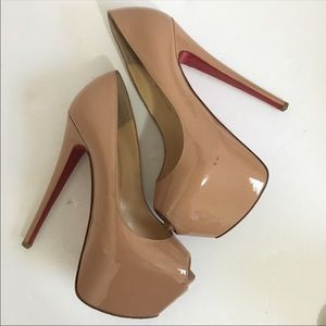 Christian Louboutin Shoes - Christian Louboutin Patent Leather Highness Heels